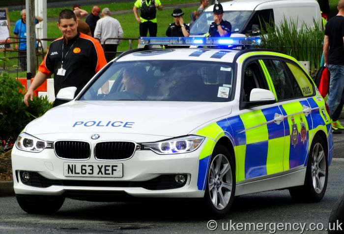 NL63 XEF Durham Constabulary / Cleveland Police BMW 330D Xdrive | UK ...