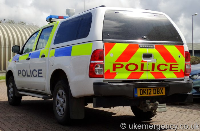 Dk12 Dbx Port Of Liverpool Police Toyota Hilux The 25 Uk