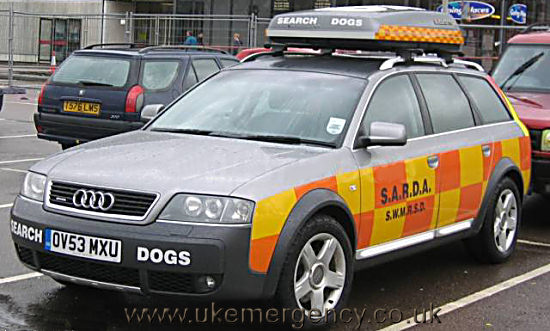 Search and rescue dog equipment uk