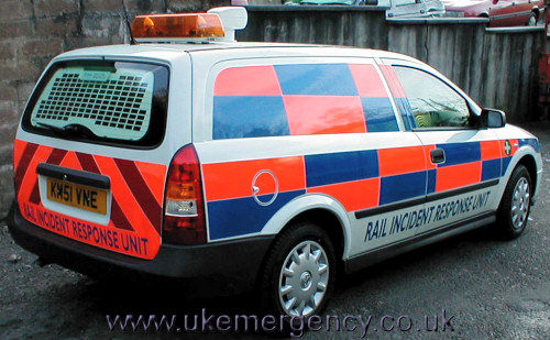 Railway response uk emergency vehicles km51 vne this vauxhall astra estate is a rail incident aloadofball Images