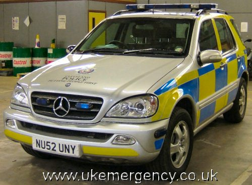 Police uk emergency vehicles page 33 for Mercedes benz emergency number