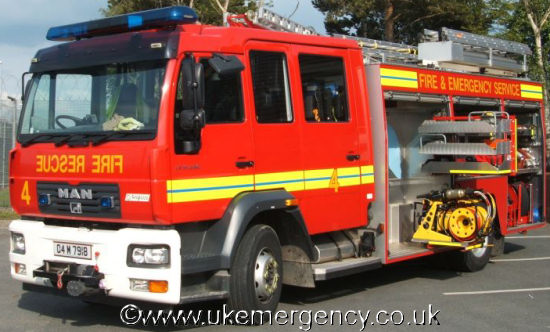 Military Fire Uk Emergency Vehicles