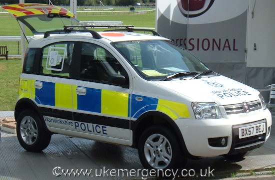 BX57 BEJ This is a Fiat Panda that is in service… | UK Emergency