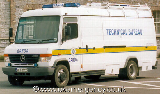 Ireland uk emergency vehicles for Mercedes benz technical support