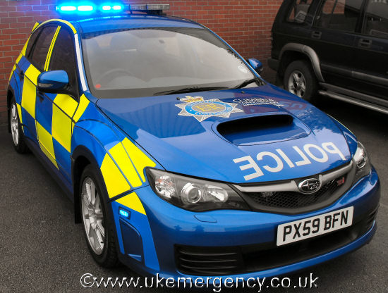 Px59 Bfn This Is One Of Cumbria Police S Subaru Uk