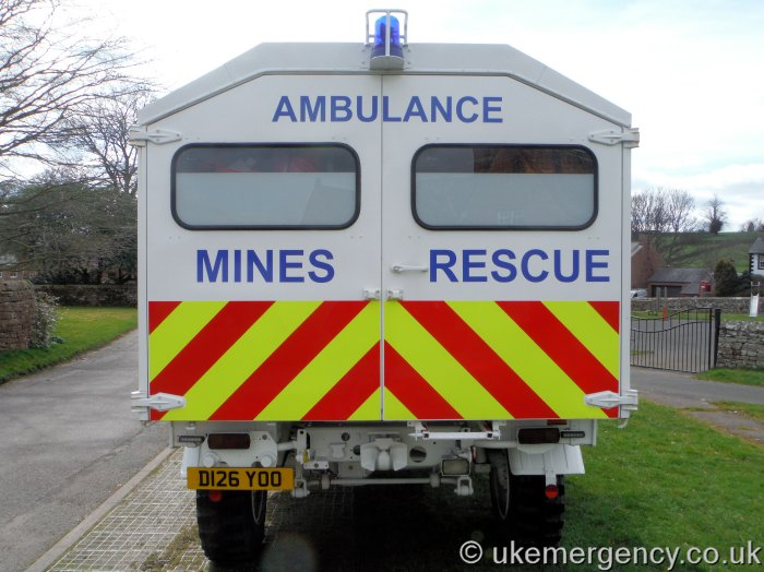 What Is A Livery Vehicle >> Mines Rescue | UK Emergency Vehicles