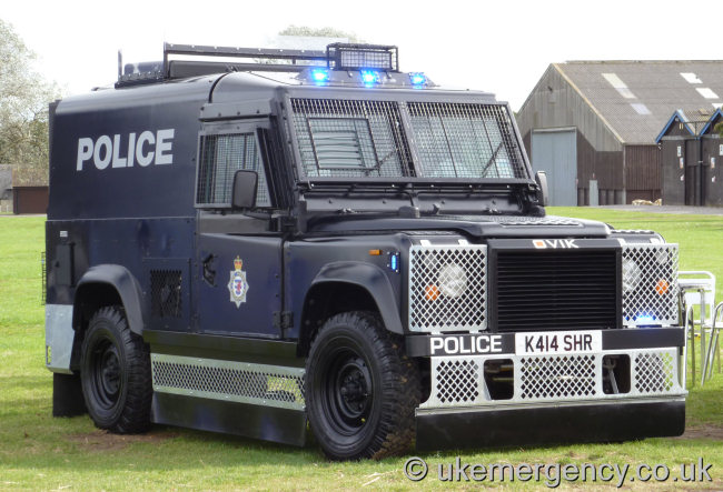 K414 Shr Ovik Have Converted This Ex Mod Land Rover