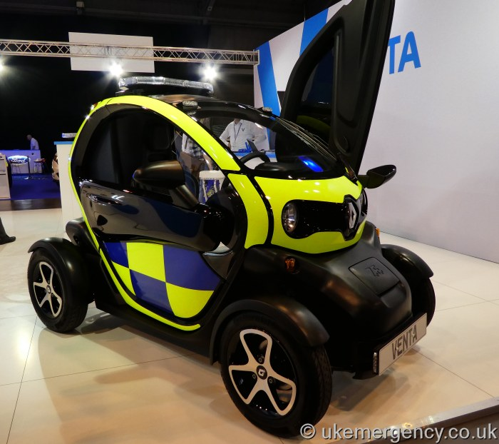 Renault Twizy: HY16 VEP Police Demonstrator Renault Twizy