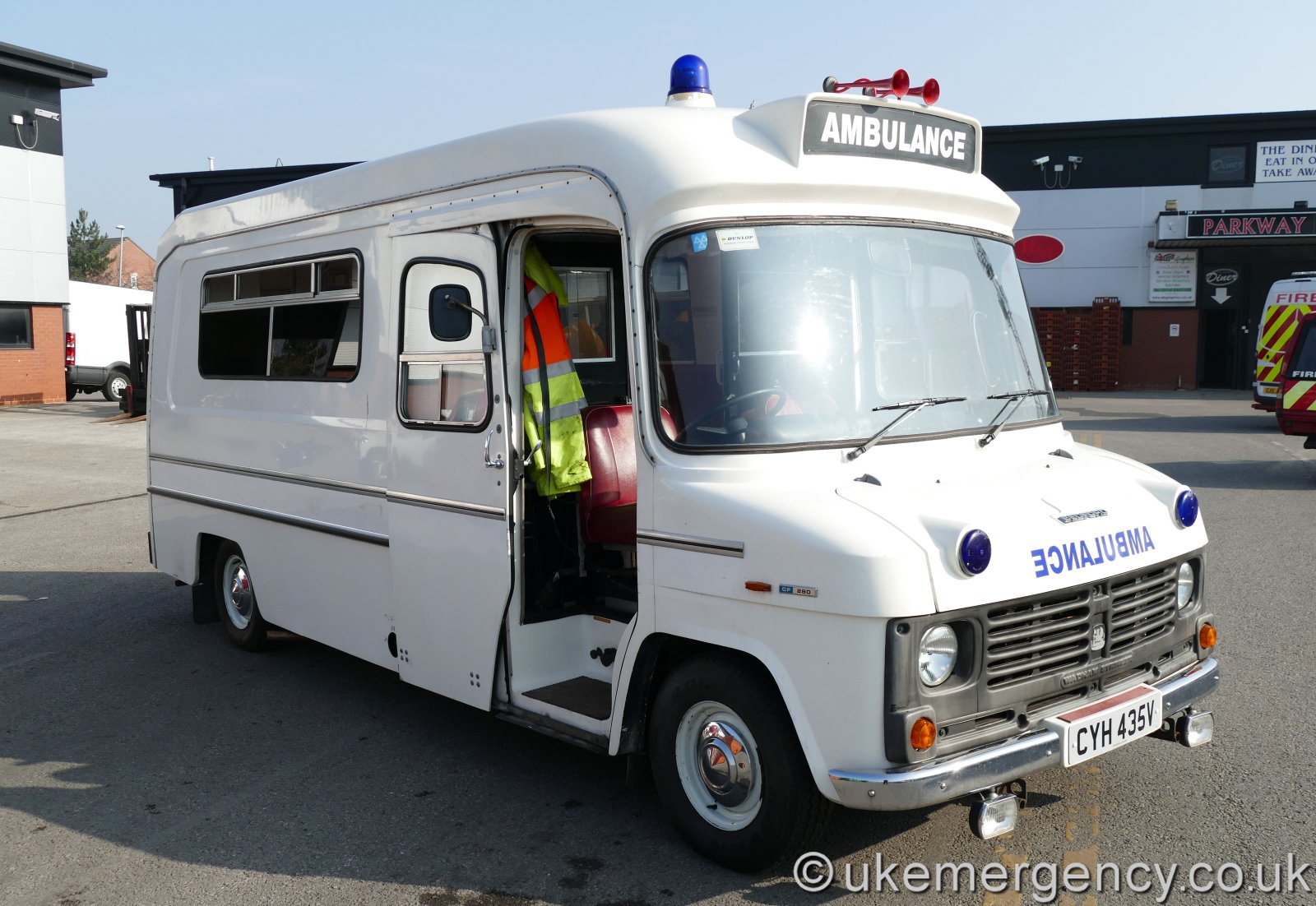 Vintage Ambulance | UK Emergency Vehicles